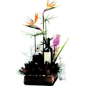 flores y licor
