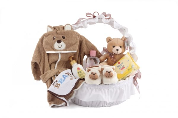 canasta de bebe