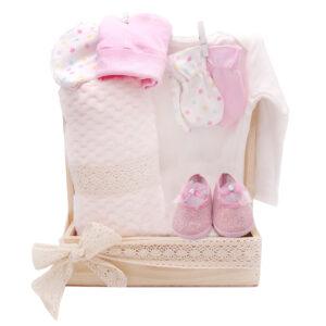 Caja de regalo para bebe niña