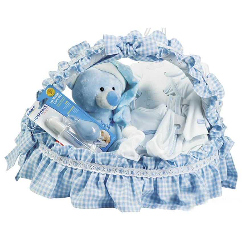 canastilla para bebe recien nacido forrada en tela con peluche y accesorios