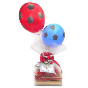 chocolates y globos