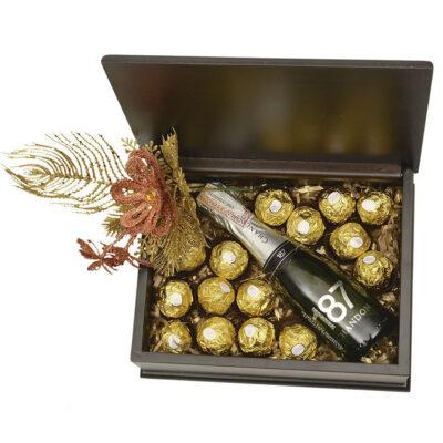 baul y chocolates
