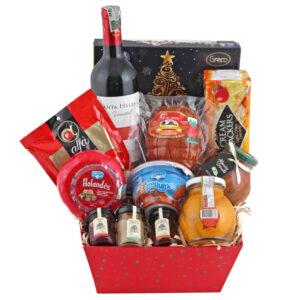 Ancheta navideña caja mermeladas