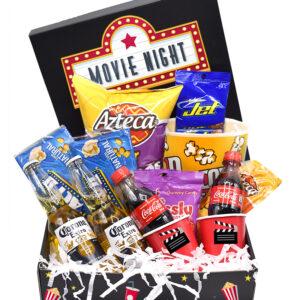 Caja de cine ancheta de cine