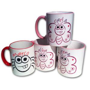 mug personalizado para niños