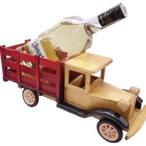 camion botellero con tequila