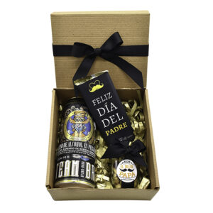 caja regalo con cervezas
