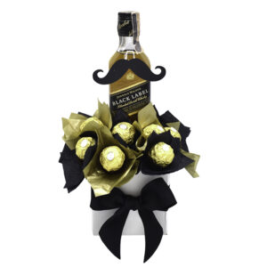 caja whiskey y chocolates
