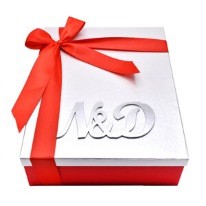 caja personalizada para pareja