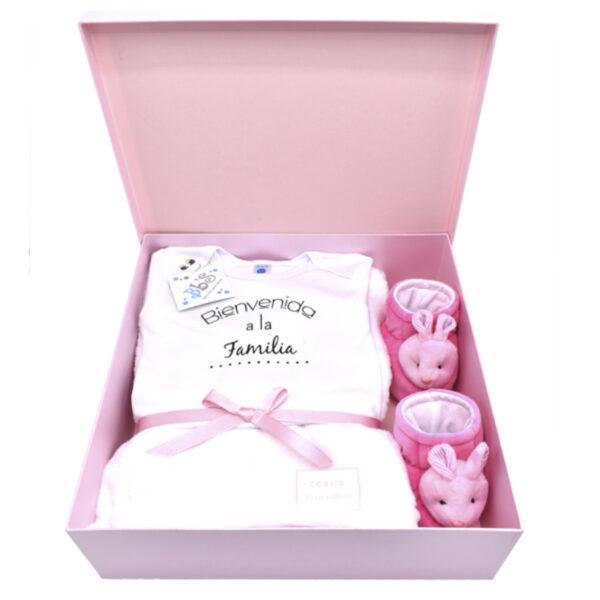 Caja nacimiento niña