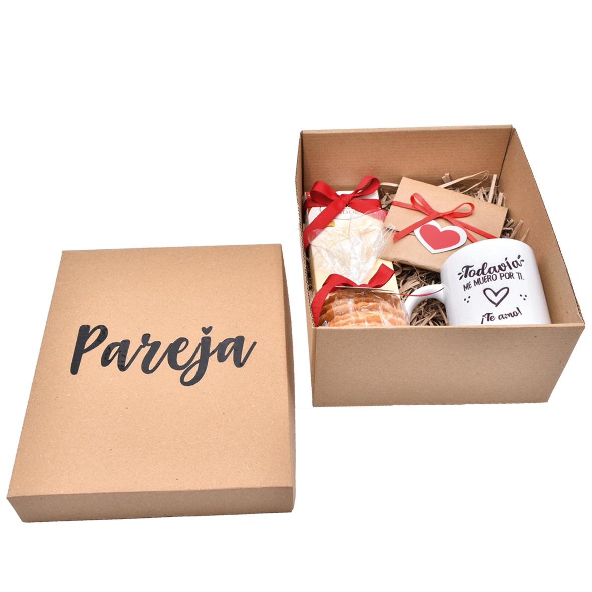 Caja de Regalo para pareja de amor