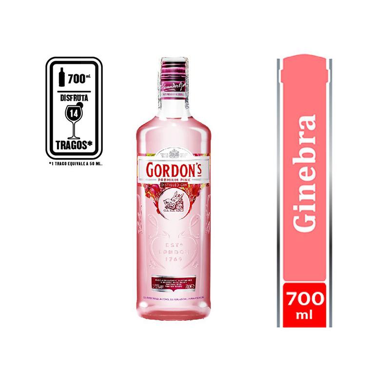 Ginebra Gordons Pink para regalar
