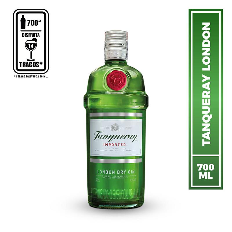 Tanqueray London Dry Gin Tonic para regalar