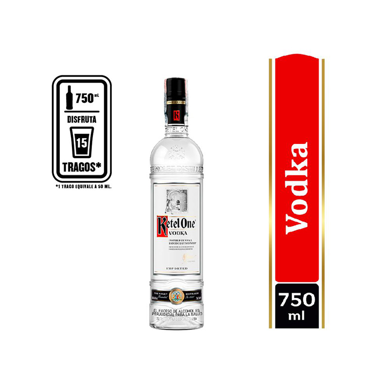 Vodka Ketel One para regalar