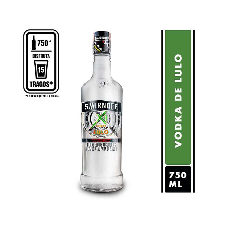 Vodka Smirnoff Lulo para regalar