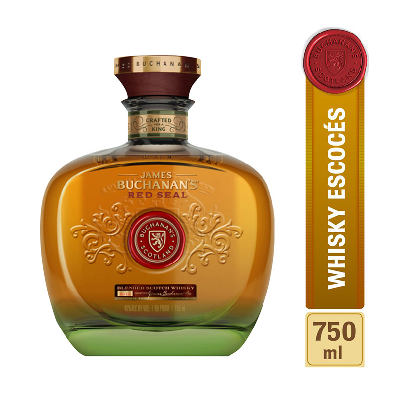 Whisky Buchanans Red Seal para regalar